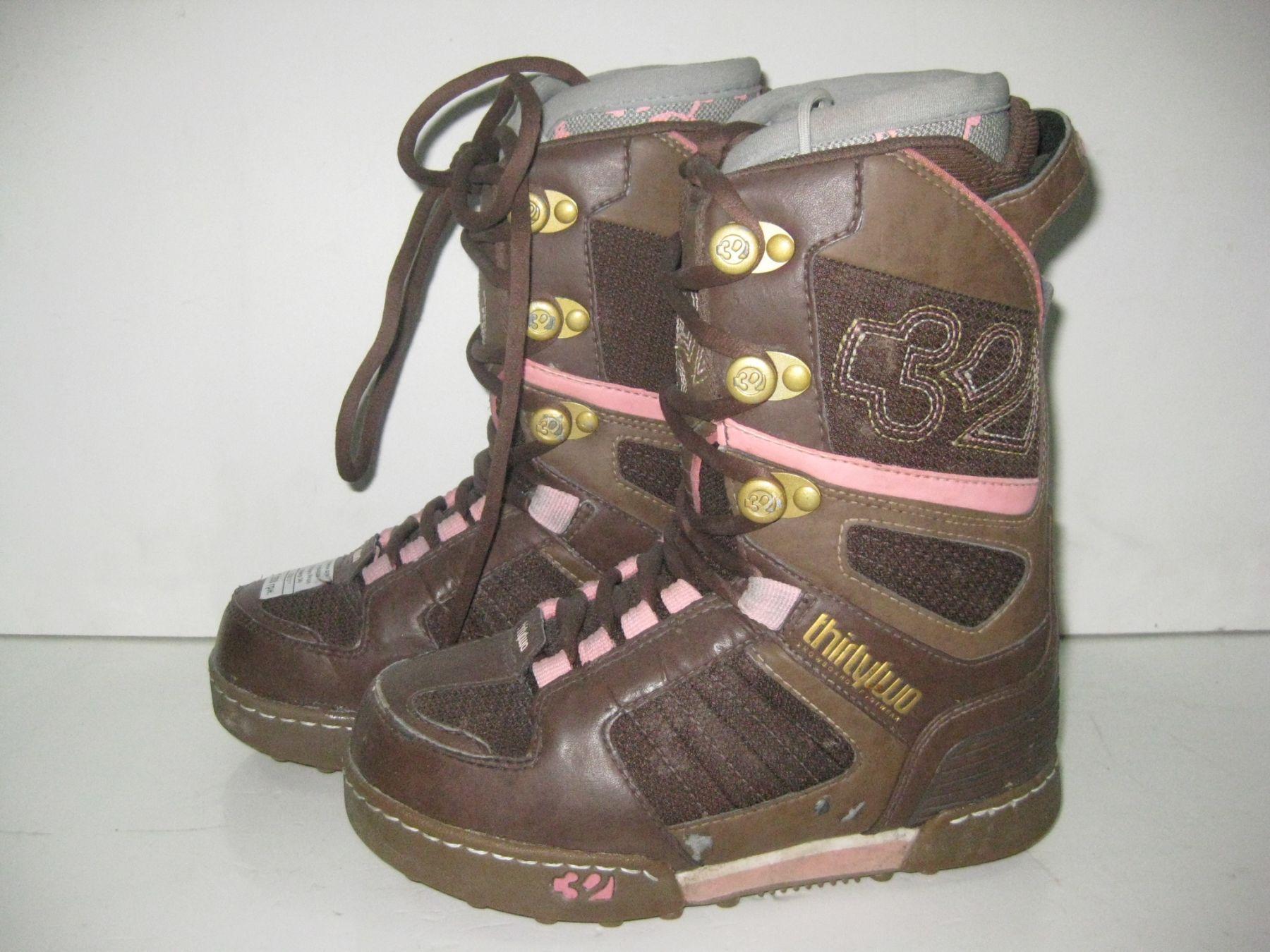 b0a9316f610e Ботинки для сноуборда Thirtytwo Prion (размер 34) - купить по ...