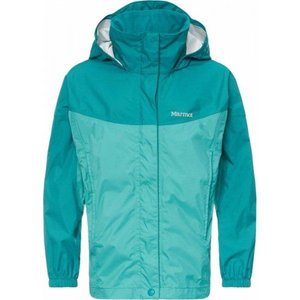 Куртка Marmot Girl's PreCip Jacket (Teal Tide/Malachite, M)