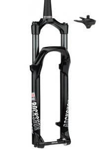 "Вилка Rock Shox Judy Silver TK - Remote 27.5"" Boost™ 15x110 Maxle 100mm Black, Fast Black TurnKey Alum Str Tpr 42 offset Solo Air (includes Star nut, Maxle Stealth & Right PopLoc Remote) A2"