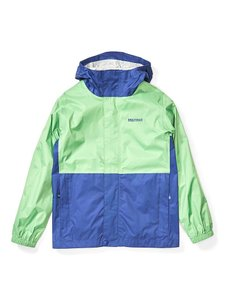 Куртка Marmot Boy's PreCip Eco Jacket (Emerald/Royal Night, M)