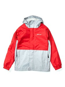 Куртка Marmot Boy's PreCip Eco Jacket (Team Red/Sleet, S)