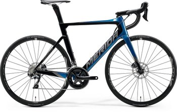 Велосипед Merida REACTO DISC 5000 GLOSSY OCEAN BLUE/BLACK 2020
