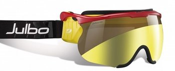 Маска для беговых лыж Julbo Sniper L red/yellow