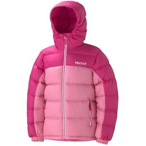 Куртка Marmot Girl's Guides Down Hoody (Pink Punch/Hot Pink, XL)