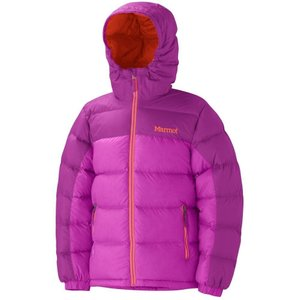 Куртка Marmot Girl's Guides Down Hoody (Pop Pink/Bright Berry, S)