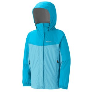 Куртка Marmot Куртка Marmot Girl's PreCip Jacket (Blue Radiance/Breeze Blue, S)