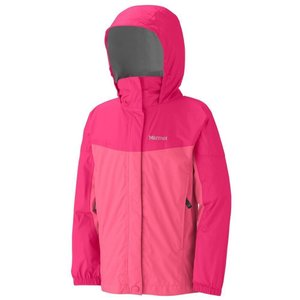 Куртка Marmot Куртка Marmot Girl's PreCip Jacket (Plush Pink/Hot Berry, S)