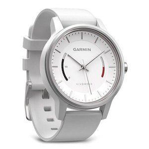 Фитнес часы Garmin vivomove Sport, White with Sport Band