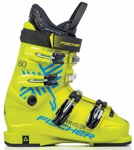 Ботинки горнолыжные Fischer Ranger 60 Jr Thermoshape yellow/yellow