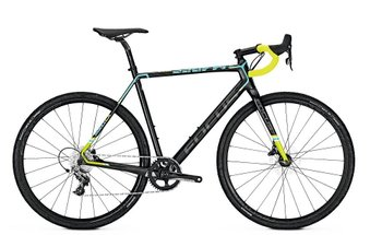"Велосипед Focus Mares Sram Rival 1 11G 28"" (Carbon/Blue/Green)"