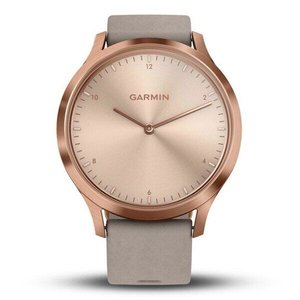 Фитнес часы Garmin vivomove HR, WW, Premium, Rose Gold-Gray, One-Size