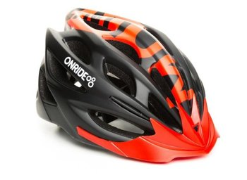 Шлем Onride MOUNT модель MV50 black-red L(58-62)(р)