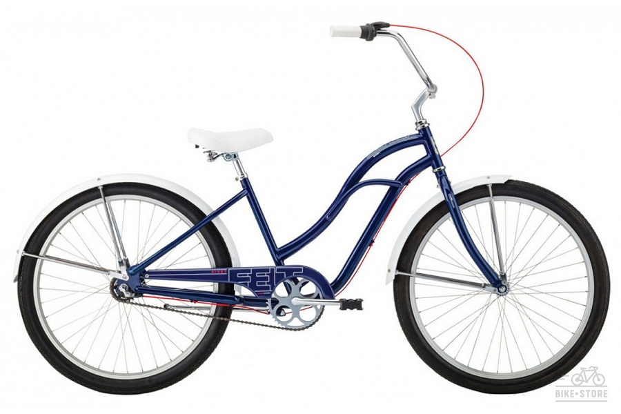 "Велосипед Felt Cruiser Bixby 17"" navy"