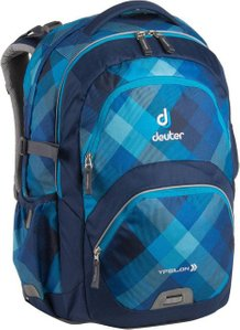 Рюкзак Deuter Ypsilon цвет 3038 blue crosscheck, школьные, 21-30 л