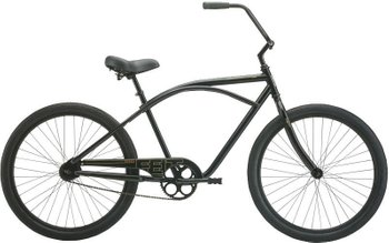 Велосипед Felt Cruiser Bixby matte black 3sp, One size (165-185 см), ножной, 26