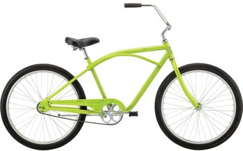 Велосипед Felt Cruiser Bixby sour apple green 3sp, One size (165-185 см), ножной, 26