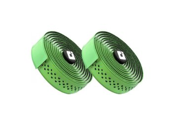 Обмотка руля ODI 3.5mm Dual-Ply Performance Bar Tape - Green/White (зелено-белая)