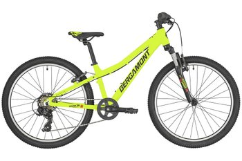 "Велосипед Bergamont 19' 24"" Revox 24 Boy, lime green/black/red (matt), 135-150 см, 2019, ободные, 24, Для мальчиков"