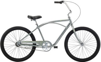Велосипед Felt Cruiser Bixby tungsten 3sp, One size (165-185 см), ножной, 26