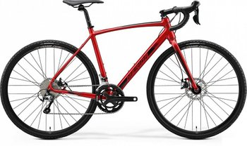 Велосипед Merida MISSION CX 300 SE SILK X'MAS RED(BLACK) 2020