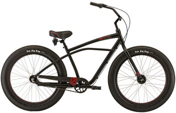 Велосипед Felt Cruiser Float, Черный, One size (165-185 см), ножной, 26