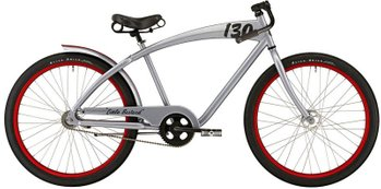 Велосипед Felt Cruiser Little Bastard, Серебристый, One size (165-185 см), ножной, 26