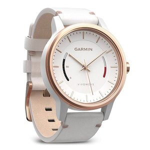 Фитнес часы Garmin vivomove Classic, Rose Gold-Tone with Leather Band