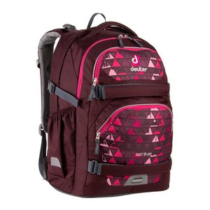 Рюкзак Deuter Strike цвет 5108 aubergine triangle, школьные, 21-30 л