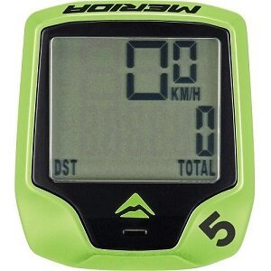 Велокомпьютер Merida Cycling computer/M5 wired 5/Green