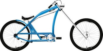 "Велосипед Felt Cruiser Squealer Men 17"" squealer blue/white"