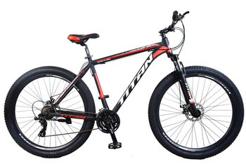 Велосипед Titan Trail 29 black-red-white