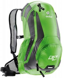 Рюкзак Deuter Race Exp Air цвет 2431 spring-anthracite 12+3 литров(р)