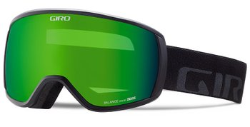 Маска горнолыжная Giro Balance Flash черн. Wordmark, Loden Green 26%