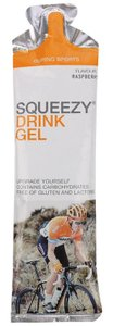 Спортивное питание SQUEEZY drink gel+электролит Малина 60г