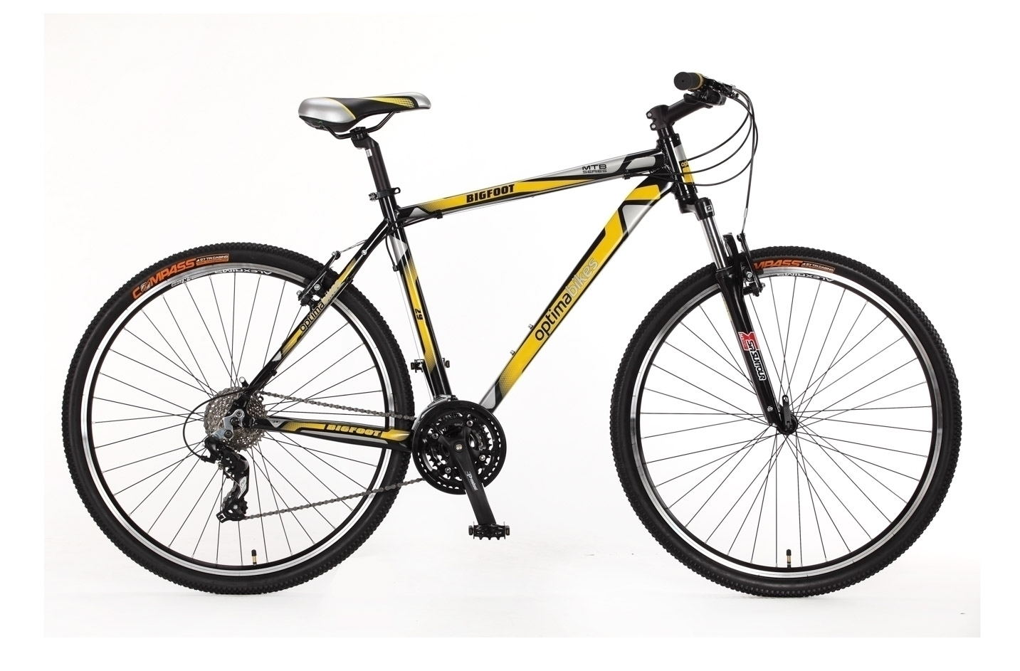 "Велосипед 29"" Optimabikes BIGFOOT 21"" 2015, 185-195 см, 2015, ободные, 29"