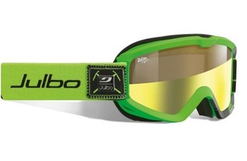 Маска горнолыжная Julbo Bang green/black zebralight