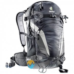 Рюкзак Deuter Freerider 26 цвет 7520 black-anthracite, спортивные, 21-30 л