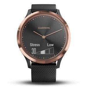 Фитнес часы Garmin vivomove HR E.EU, Sport Black/Rose Gold