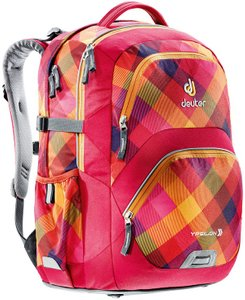 Рюкзак Deuter Ypsilon цвет 5017 berry crosscheck, школьные, 21-30 л