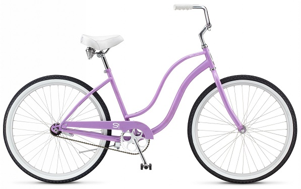 "Велосипед 26"" Schwinn Cruiser One Women 2015 lavender"